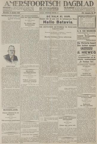 Amersfoortsch Dagblad / De Eemlander 1928-10-08