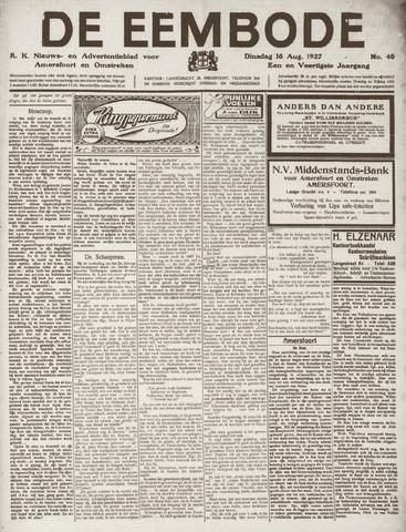 De Eembode 1927-08-16