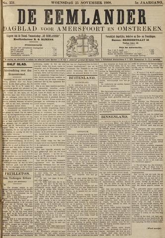 De Eemlander 1908-11-25