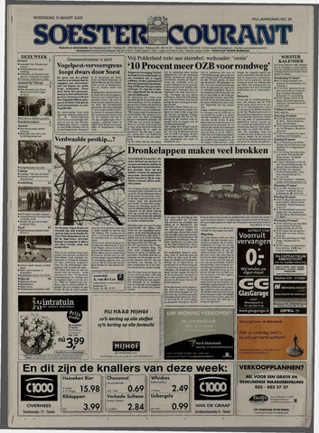 Soester Courant 2003-03-12