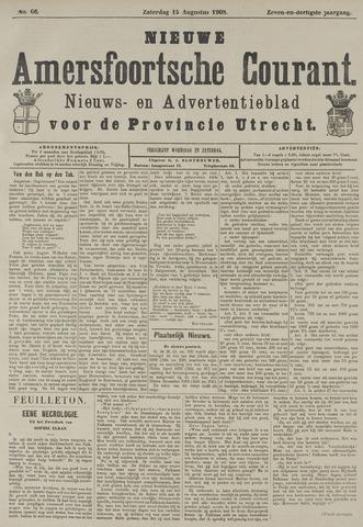 Nieuwe Amersfoortsche Courant 1908-08-15
