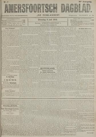 Amersfoortsch Dagblad / De Eemlander 1913-07-08