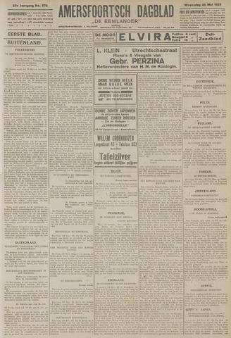 Amersfoortsch Dagblad / De Eemlander 1925-05-20