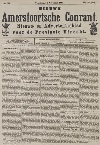 Nieuwe Amersfoortsche Courant 1914-11-04