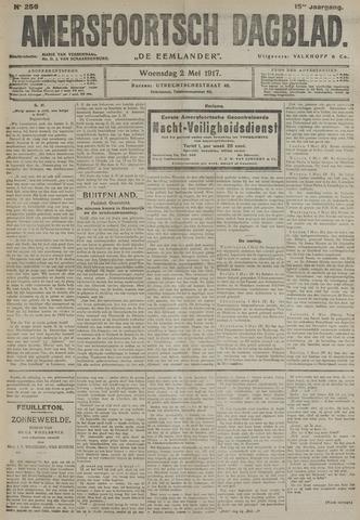 Amersfoortsch Dagblad / De Eemlander 1917-05-02