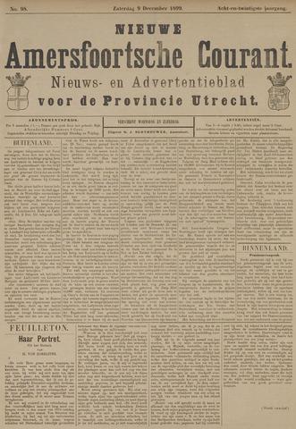 Nieuwe Amersfoortsche Courant 1899-12-09