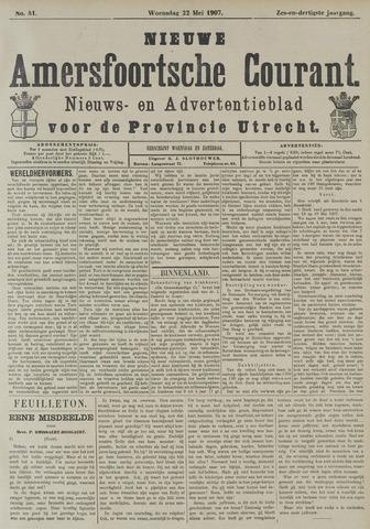 Nieuwe Amersfoortsche Courant 1907-05-22