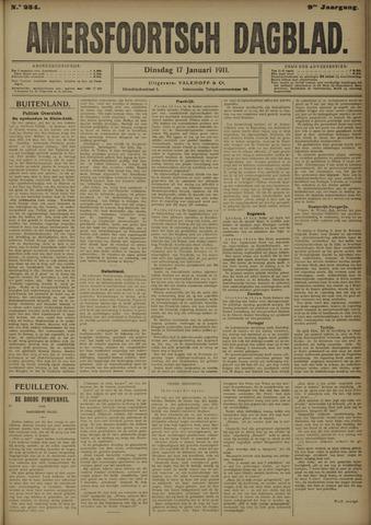 Amersfoortsch Dagblad 1911-01-17