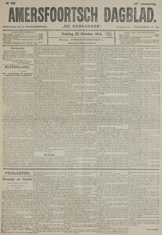 Amersfoortsch Dagblad / De Eemlander 1914-10-23