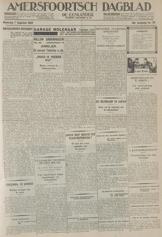 Amersfoortsch Dagblad / De Eemlander 1929-08-07