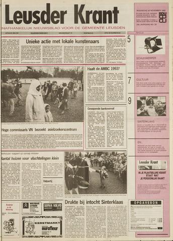 Leusder Krant 1992-11-25