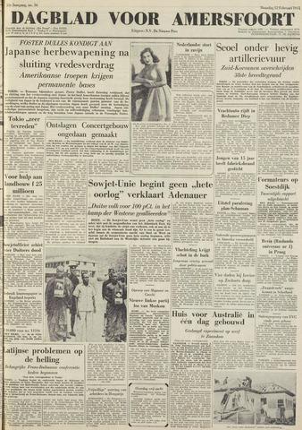 Dagblad voor Amersfoort 1951-02-12