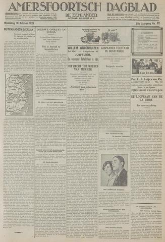 Amersfoortsch Dagblad / De Eemlander 1929-10-16