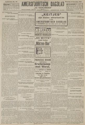 Amersfoortsch Dagblad / De Eemlander 1927-11-14