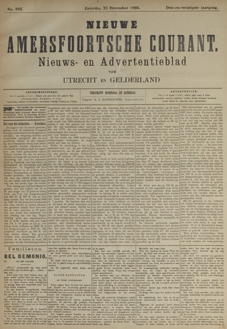 Nieuwe Amersfoortsche Courant 1894-12-22
