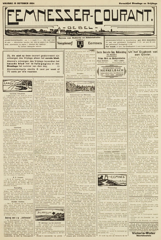 Eemnesser Courant 1924-10-10
