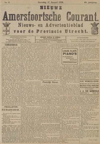 Nieuwe Amersfoortsche Courant 1920-01-17