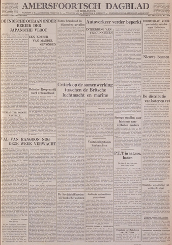 Amersfoortsch Dagblad / De Eemlander 1942-02-27