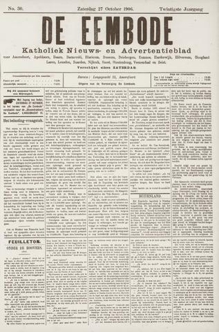 De Eembode 1906-10-27