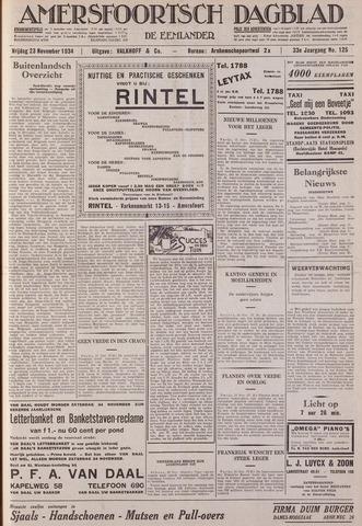 Amersfoortsch Dagblad / De Eemlander 1934-11-23