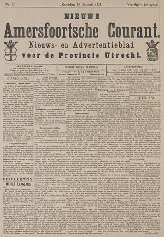 Nieuwe Amersfoortsche Courant 1911-01-28