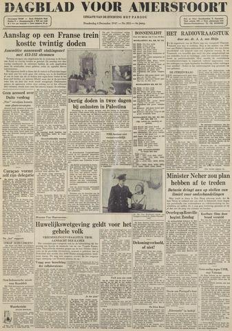 Dagblad voor Amersfoort 1947-12-04