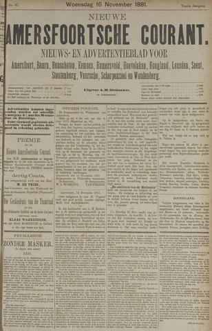 Nieuwe Amersfoortsche Courant 1881-11-16