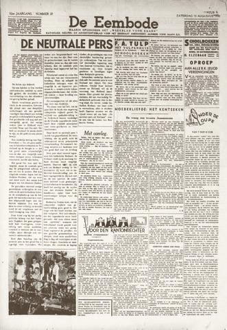 De Eembode 1938-08-13