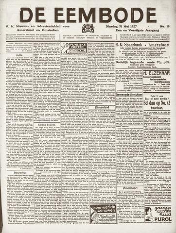 De Eembode 1927-05-31