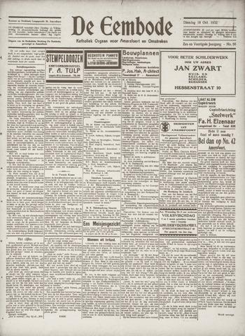 De Eembode 1932-10-18