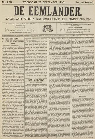 De Eemlander 1910-09-28