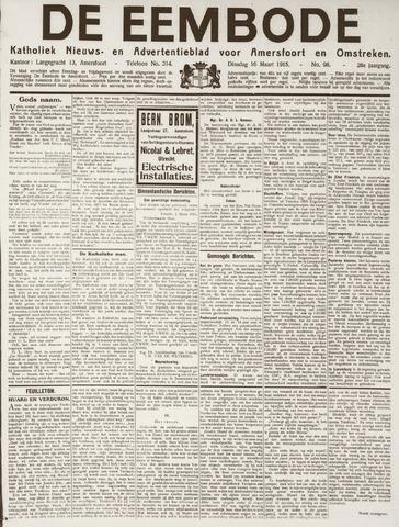 De Eembode 1915-03-16
