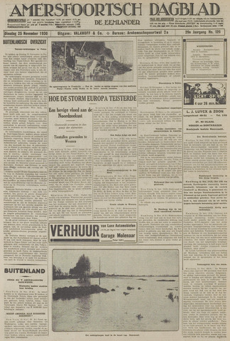 Amersfoortsch Dagblad / De Eemlander 1930-11-25