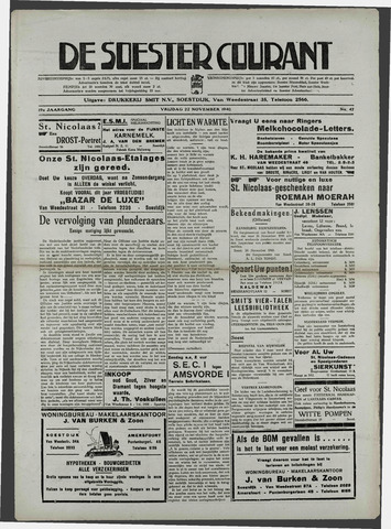 Soester Courant 1940-11-22