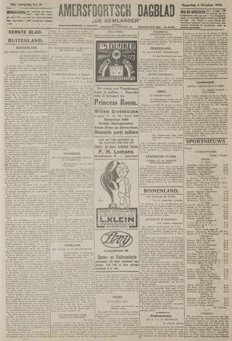 Amersfoortsch Dagblad / De Eemlander 1926-10-04