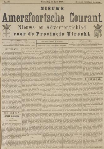 Nieuwe Amersfoortsche Courant 1898-04-13