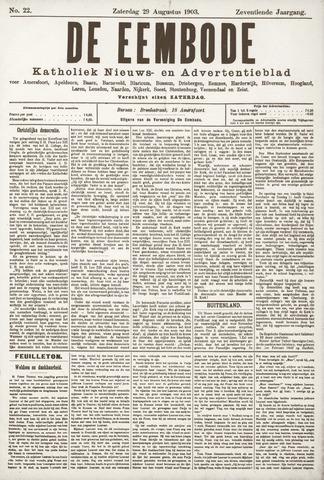 De Eembode 1903-08-29