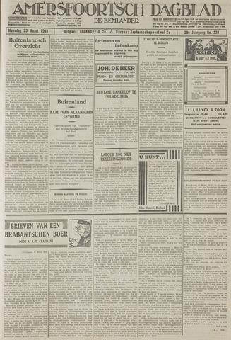 Amersfoortsch Dagblad / De Eemlander 1931-03-23