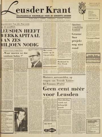 Leusder Krant 1971-04-22