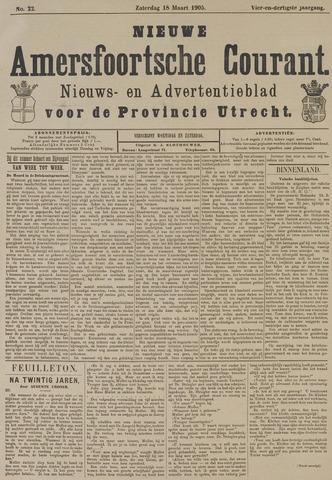 Nieuwe Amersfoortsche Courant 1905-03-18