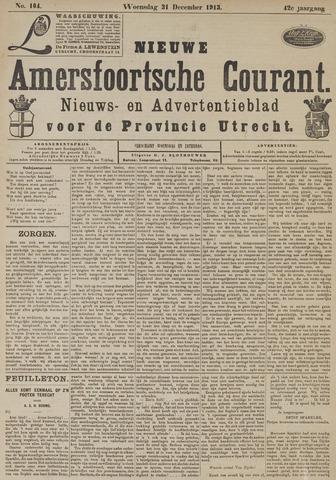 Nieuwe Amersfoortsche Courant 1913-12-31