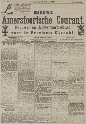 Nieuwe Amersfoortsche Courant 1916-10-25