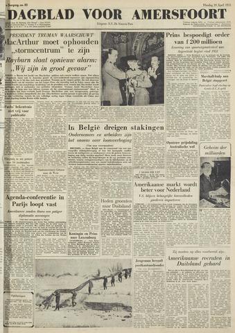 Dagblad voor Amersfoort 1951-04-10
