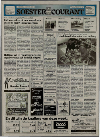 Soester Courant 1999-03-31