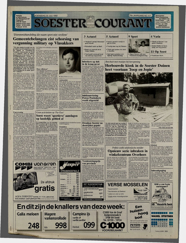 Soester Courant 1992-07-22