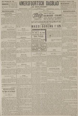 Amersfoortsch Dagblad / De Eemlander 1926-01-21
