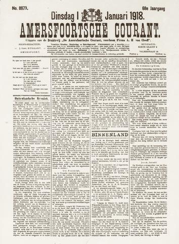 Amersfoortsche Courant 1918