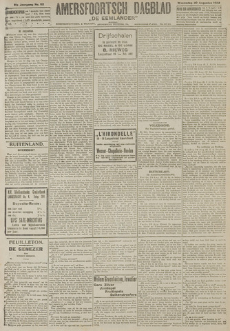 Amersfoortsch Dagblad / De Eemlander 1922-08-30