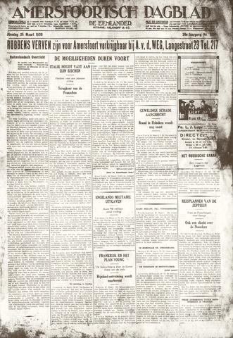 Amersfoortsch Dagblad / De Eemlander 1930-03-25