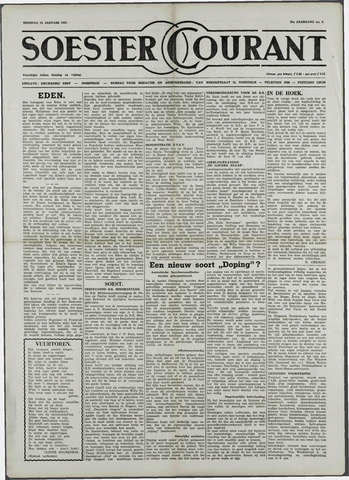 Soester Courant 1957-01-22